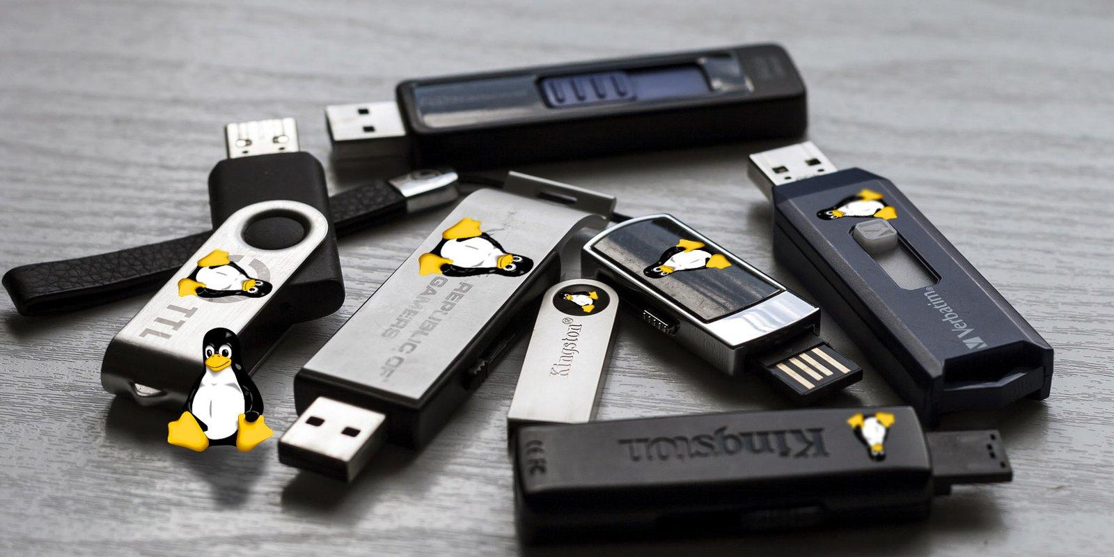 5 лучших дистрибутивов Linux для установки на USB-накопитель
